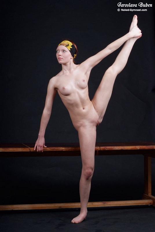 Extreme nude gymnastics